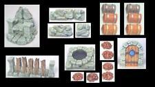 Roleplay Scenery 25mm Terrain D&D Warhammer Heroquest - Cavern Features
