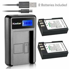 Kastar EN-EL9 Battery & LCD SLIM Charger for Nikon D40x D60 D3000 D5000