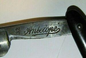 "Vintage Antelope ""32"" Razor - Griffon Cutlery Works Germany"