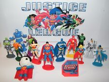 Justice League Figure Set of 14 Kit with Figures, DC Doll, Hero Ring Great Fun!