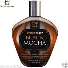 Tan Incorporated Black Mocha Sunbed Bronzer Accelerator Lotion 400ml Cream