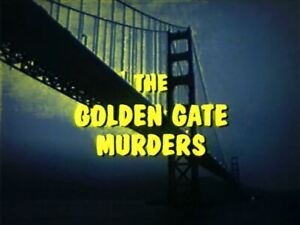 Golden Gate Murders - 1979 Stars David Janssen, Susannah York (UK dvd disc)