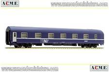 Voiture couchette type MU 1973 SNCF logo nouille ACME - AC 50586 - Echelle 1/87