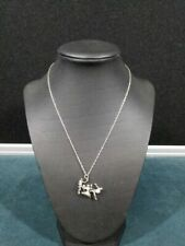 Sterling Silver Charm With Necklace