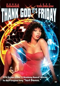 THANK GOD IT'S FRIDAY (1978 Donna Summer) - DVD - UK Compatible