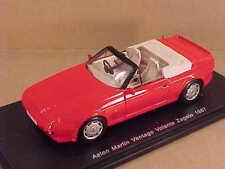 Spark 1/43 Resin 1967 Aston Martin Vantage Volante Zagato Open Top, Red  #S2158