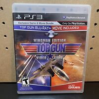 PS3 Top Gun Wingman Edition - (Sony PlayStation 3) Tested! Free Shipping