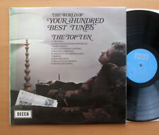 SPA 112 The World Of Your Hundred Best Tunes The Top Ten 1970 Decca Stereo NM/EX