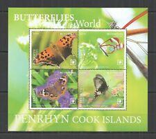 R0187 2020 PENRHYN BUTTERFLIES OF THE WORLD FLORA & FAUNA KB MNH