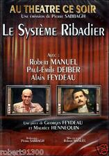 D.V.D../...THEATRE.../...LE SYSTEME RIBADIER.../...ROBERT MANUEL.../...NEUF...