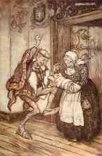 A4 Foto los cuentos de hadas de los hermanos Grimm 1909 13 impreso Poster