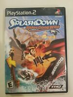 Splashdown: Rides Gone Wild PS2 (Sony PlayStation 2, 2003) CIB TESTED FREE S/H
