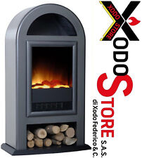 Stove Electric Maison Fire Model Nordic Deluxe - Fireplace Design - Bargain