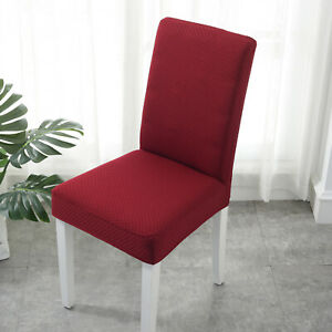 Stretch Chair-Cover Seat Cover Protector Banquet Wedding Party Deco Check Design