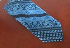 Vintage Givenchy Polyester Necktie Blue