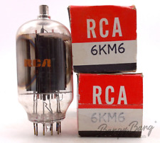2 RCA 6KM6/6JF6/6JU6 Beam Power Pentode Valve- BangyBang Tubes