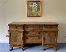 More details for traditional vintage antique sideboard cabinet cupboard