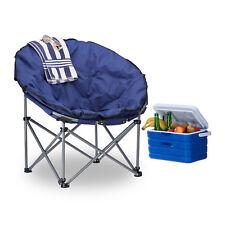Silla de camping moonchair plegable, XXL camping sillón tapizado, relax compacta
