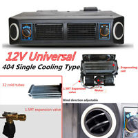 12V Car Truck Underdash AC Evaporator Cooling Air Conditioner Compressor Kit