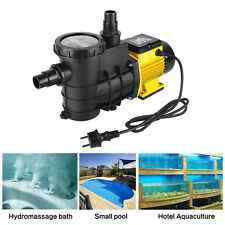 Schwimmbadpumpe Umwälzpumpe Poolpumpe elektronik Gelb 5000/8000/14500L/h Pumpe
