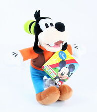 "Mickey Mouse Clubhouse GOOFY 8"" plush soft toy Disney Posh Paws - NEW!"