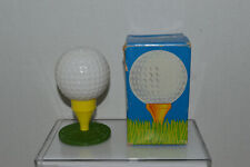 Avon~Vintage 1973~Tee-Off~Milky Golf Ball On Tee~Spicy After Shave~New In Box~Kc