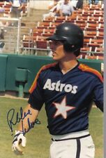 Robbie Wine Signed Photograph Autograhed Photo Astros