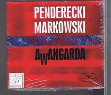PENDERECKI MARKOWSKI CD NEW AWANGARDA