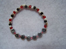 Atlanta Falcons beaded bracelet