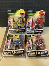 """Lot of 4 NEW POWER RANGERS Beast Morphers 6"""" Action Figures Mighty Morphing P.R."""