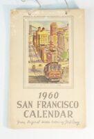 San Francisco Calender 1960 Jahreskalender by TED LEWY guter Zustand RAR B6882