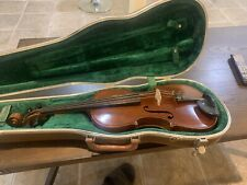 antiquevery Old Violin From Francois D'Albert's Collection