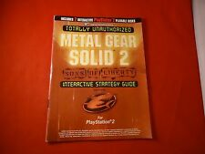 Metal Gear Solid 2 Sons of Liberty Playstation 2 PS2 Gameshark Strategy Guide