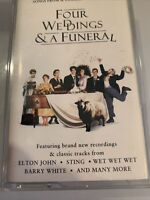 Four Weddings & A Funeral Soundtrack Cassette Tape