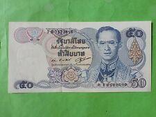 Thailand 50 Bath 1985-1996 (UNC) 全新 泰国50泰铢 1985-1996  3B 7573816