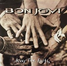 BON JOVI - Keep The Faith (LP) (VG/G-)