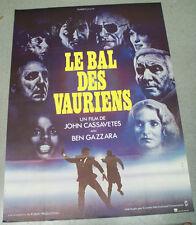 Affiche de cinéma : LE BAL DES VAURIENS de JOHN CASSAVETES