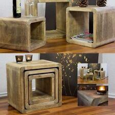 Fertig montierte Couchtische aus Holzfurnier fürs Wohnzimmer