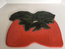 Strawberry Fruit CERAMIC WALL DECOR or CUTTING BOARD