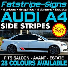 AUDI A4 GRAPHICS STRIPES STICKERS DECALS CAR VINYL ESTATE SALOON AVANT S4 RS4