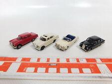 CA375-0,5# 4x Brekina 1:87/H0 PKW Mercedes/MB: 180/190 + 190/200 etc, sehr gut