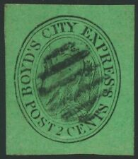 Us Local Post Stamps Scott #20L4 Boyd's City Express