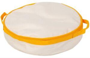 IRIS Travel Cat Litter Pan, Yellow NEW