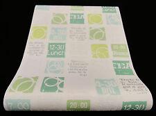 """6875-07-4) moderne nappes papier peint SUPER de Cuisine Design Papier Peint """"A la maison"""""""