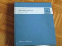 Werkstatthandbuch Mercedes Getriebe 1966 - 72 + Service Information 1966 - 72 !!