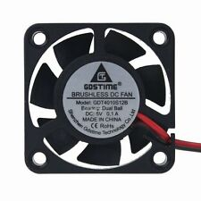 Gdt 40mm 40x10mm DC 5V Ball Bearing Mini Brushless PC Computer Cooling IDE fan