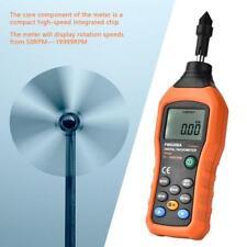 LCD Digital Drehzahlmesser Drehzahlmessgerät Kontakt Tachometer Messung Tester