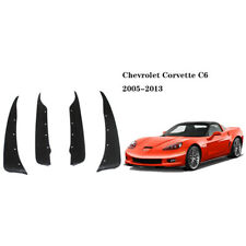 4pcs Heavy Duty Molded Splash Mud Flaps Guards Fenders For Chevrolet Corvette C6