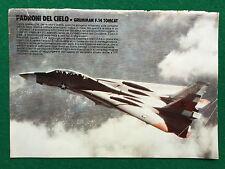 AF13 Poster Clipping Werbung 24x17 cm da Boy - GRUMMAN F-14 TOMCAT AEREI