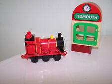 Lego #5555 Thomas Train Toby Tidmouth Station Depot Blocks James Engine